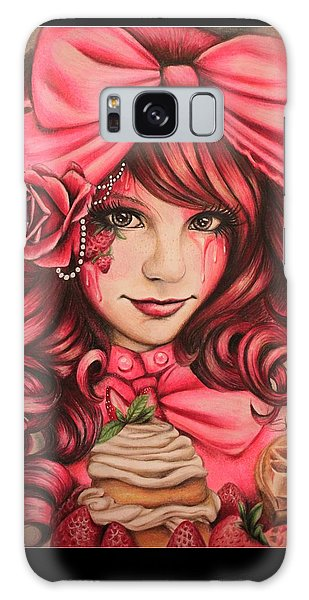 Strawberry Galaxy Case by Sheena Pike