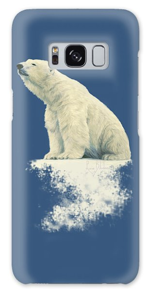 Polar Bear Galaxy S8 Case - Something In The Air by Lucie Bilodeau