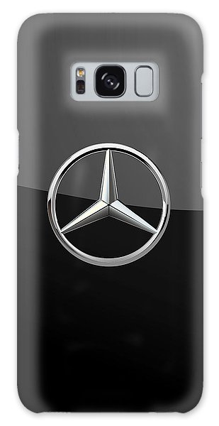 Mercedes-benz - 3d Badge On Black Galaxy Case