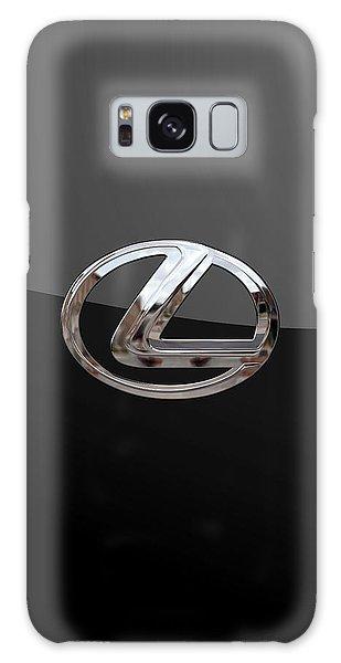 Lexus - 3d Badge On Black Galaxy Case