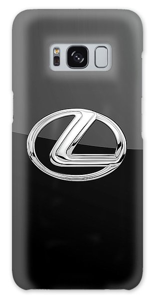 Lexus - 3d Badge On Black Galaxy Case