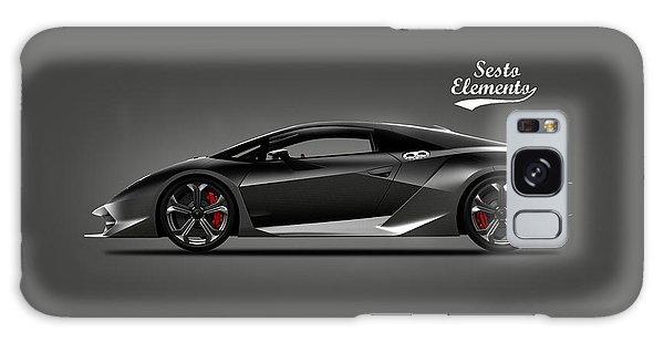 Sports Car Galaxy Case - Lamborghini Sesto Elemento by Mark Rogan