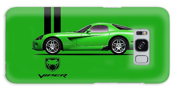 Viper Galaxy S8 Case - Dodge Viper Snake Green by Mark Rogan