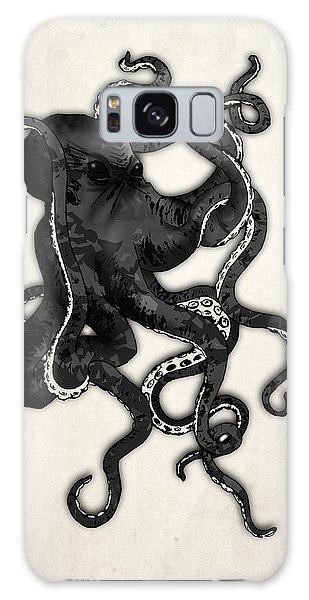 Galaxy Case - Octopus by Nicklas Gustafsson