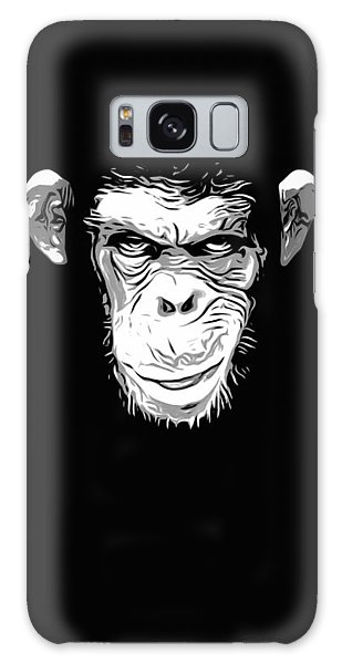 Chimpanzee Galaxy S8 Case - Evil Monkey by Nicklas Gustafsson