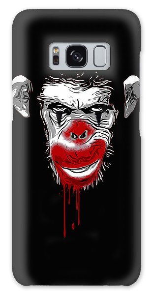 Evil Monkey Clown Galaxy Case
