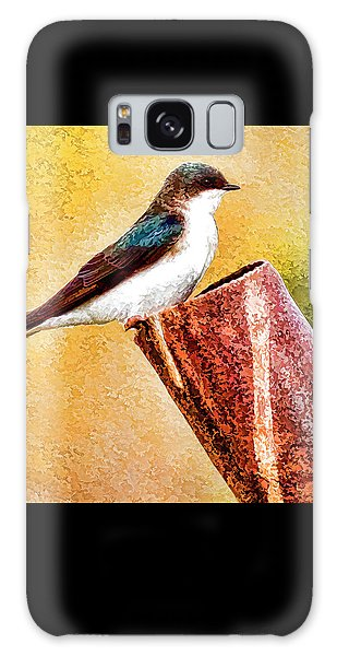 Male Tree Swallow No. 2 Galaxy Case by Bill Kesler