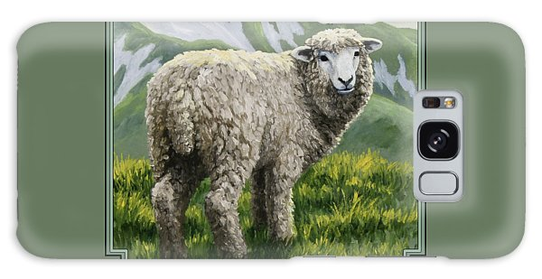 Sheep Galaxy Case - Highland Ewe by Crista Forest