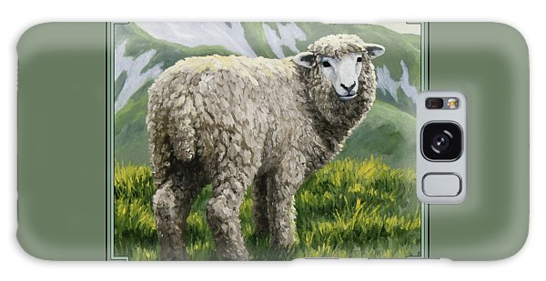 Sheep Galaxy S8 Case - Highland Ewe by Crista Forest