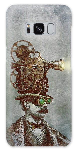 Antique Galaxy Case - The Projectionist by Eric Fan