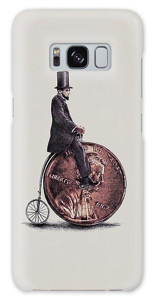 Bike Galaxy Case - Penny Farthing by Eric Fan