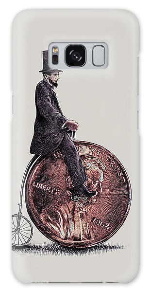 Bicycle Galaxy S8 Case - Penny Farthing by Eric Fan