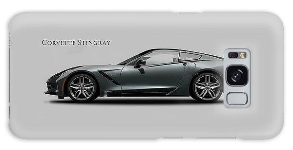 Sports Car Galaxy Case - Corvette Stingray Coupe by Mark Rogan