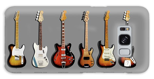 Rock Music Galaxy Case - Fender Guitar Collection by Mark Rogan