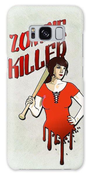 Bat Galaxy S8 Case - Zombie Killer by Nicklas Gustafsson