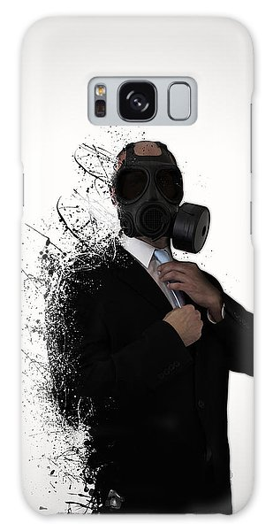 Men Galaxy Case - Dissolution Of Man by Nicklas Gustafsson