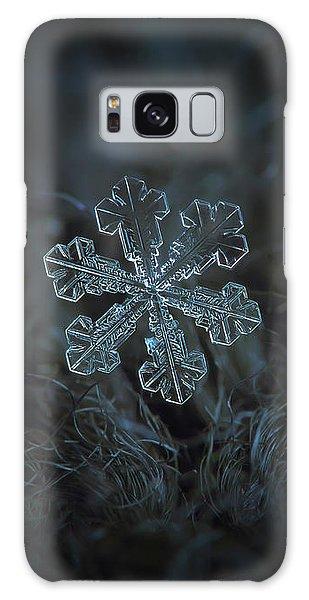 Snowflake Photo - Vega Galaxy Case
