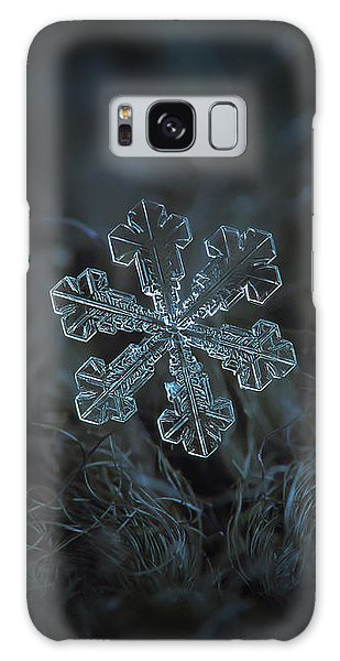 Snowflake Photo - Vega Galaxy Case