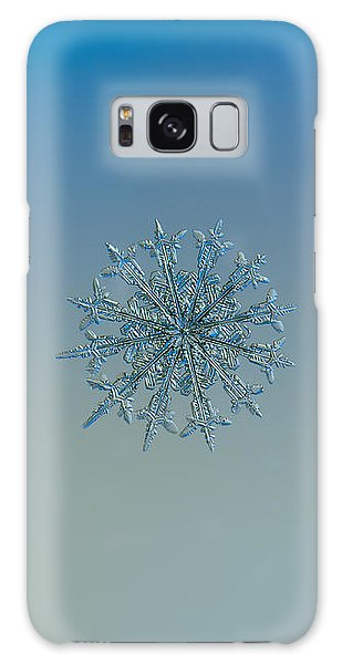 Snowflake Photo - Twelve Months Galaxy Case