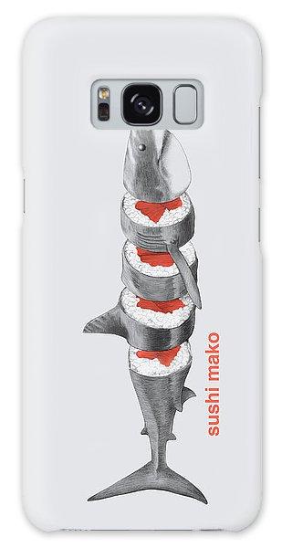 Fish Galaxy S8 Case - Sushi Mako by Eric Fan