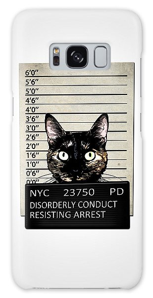 Kitty Mugshot Galaxy Case