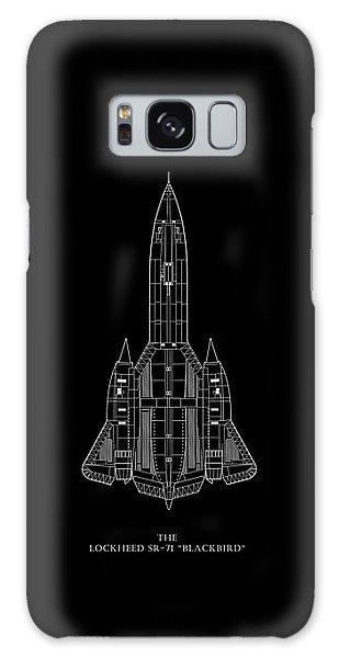 The Lockheed Sr-71 Blackbird Galaxy Case by Mark Rogan