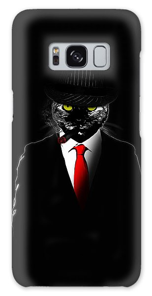 Mobster Cat Galaxy Case
