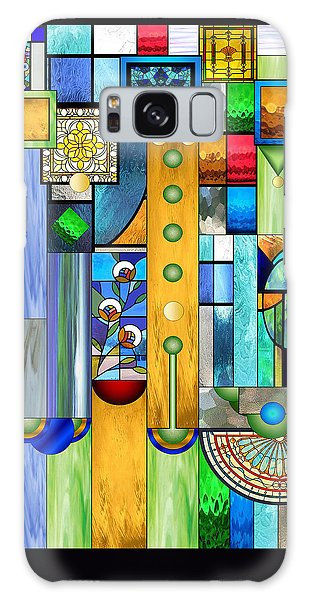Art Deco Stained Glass 1 Galaxy Case