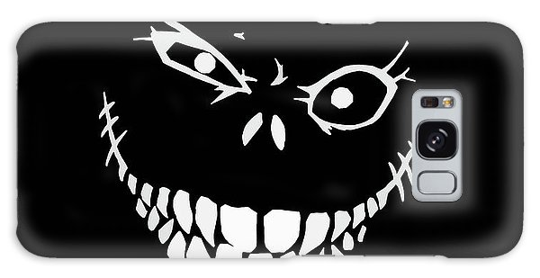 Halloween Galaxy Case - Crazy Monster Grin by Nicklas Gustafsson