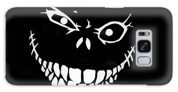 Crazy Monster Grin Galaxy Case