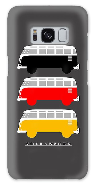 Volkswagen Galaxy Case - German Icon - Vw T1 Samba by Mark Rogan