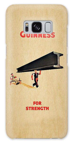 Beer Galaxy S8 Case - Guiness For Strength by Mark Rogan