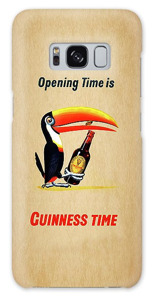 Opening Time Is Guinness Time Galaxy Case