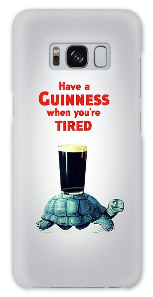 Beer Galaxy S8 Case - Guinness When You're Tired by Mark Rogan