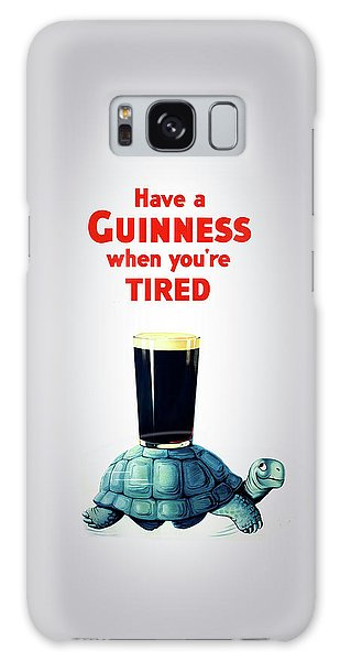 Herbs Galaxy Case - Guinness When You're Tired by Mark Rogan