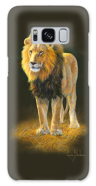 Lion Galaxy Case - In His Prime by Lucie Bilodeau