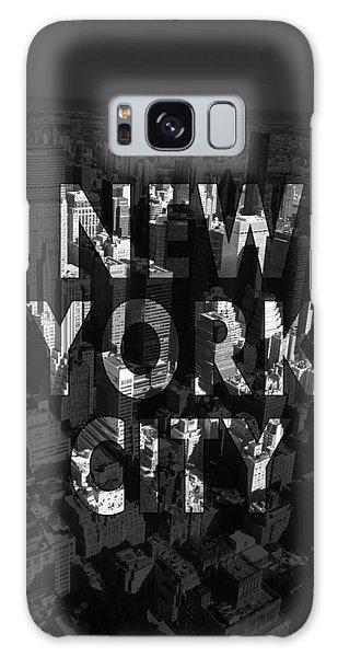 Professional Galaxy Case - New York City - Black by Nicklas Gustafsson