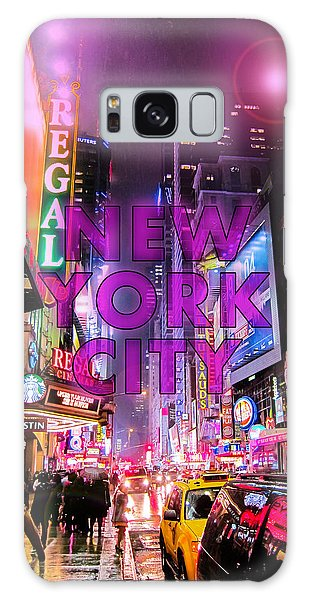 Neon Galaxy Case - New York City - Color by Nicklas Gustafsson
