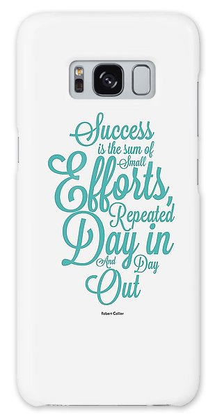 Celebration Galaxy Case - Success Inspirational Quotes Poster by Lab No 4 - The Quotography Department