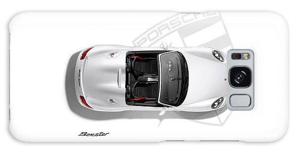Transportation Galaxy S8 Case - Porsche Boxster by Mark Rogan