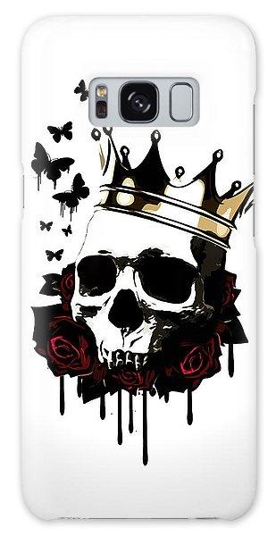 Rose Galaxy S8 Case - El Rey De La Muerte by Nicklas Gustafsson