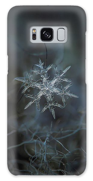 Galaxy Case featuring the photograph Snowflake Photo - Rigel by Alexey Kljatov