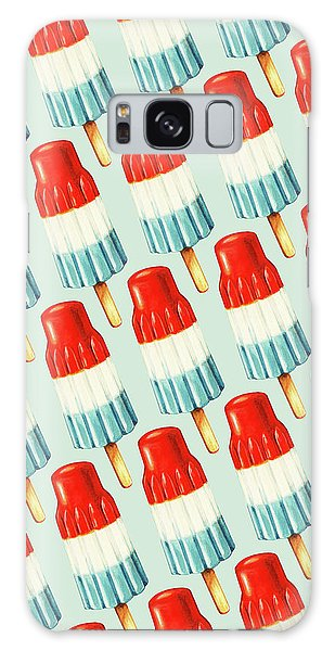 Galaxy Case - Bomb Pop Pattern by Kelly Gilleran