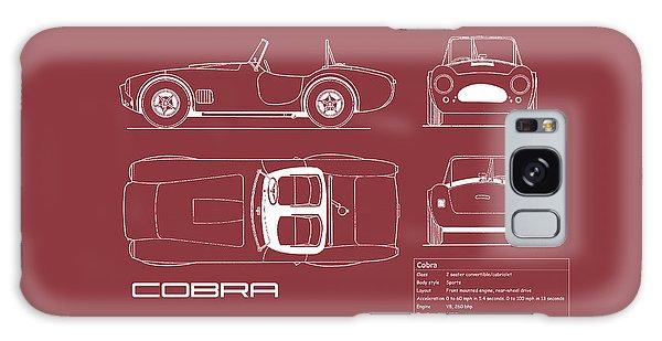 Ac Cobra Blueprint - Red Galaxy Case