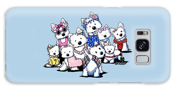 International Westie Women Galaxy Case