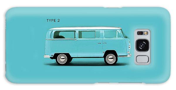Volkswagen Galaxy Case - Sky Blue Type 2 by Mark Rogan