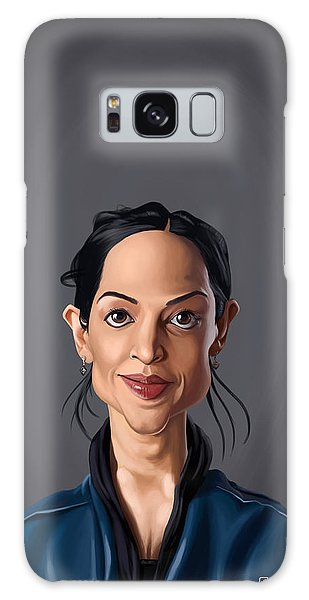 Celebrity Sunday - Archie Panjabi Galaxy Case
