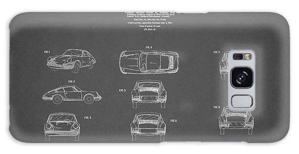 Patent Galaxy Case - Porsche 911 Patent 1964 by Mark Rogan