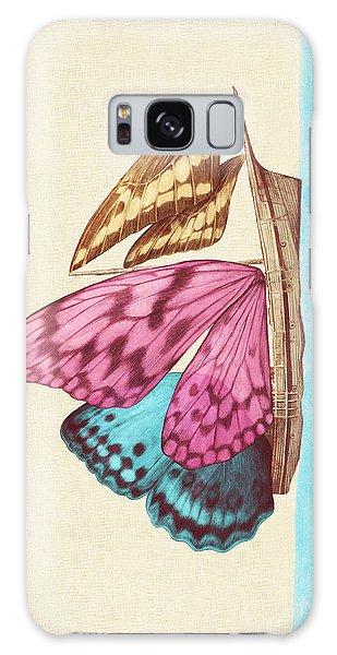 Vintage Galaxy Case - Butterfly Ship by Eric Fan