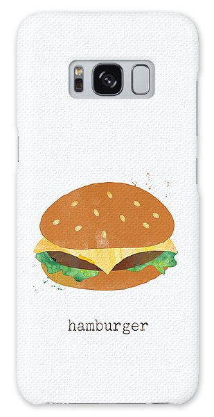 Hamburger Galaxy Case
